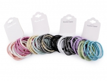 Elastic Hair Ties with Lurex