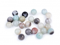 Natural Mineral / Gemstone Beads Amazonite Ø8 mm
