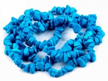Gemstone Chips Beads on String Tyrkenite