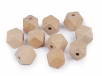 Wooden Beads, unfinished 15x19 mm