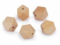 Wooden Beads, unfinished 20x26 mm