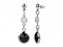 Dangle Earrings with Swarovski Elements