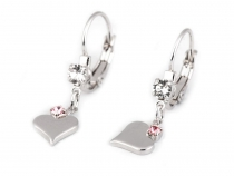 Earrings Swarovski Elements Heart