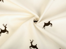 Cotton Fabric Deer design