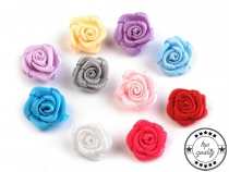 Decorative Satin Rose Ø10 mm