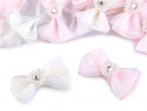 Bow 25x38 mm with Heart