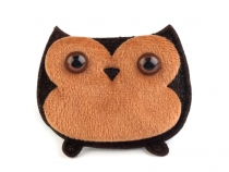 Plush Sew-on Owl Applique