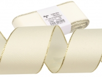 Taffeta Ribbon width 40mm with lurex