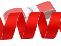 Taffeta Ribbon width 25mm with lurex