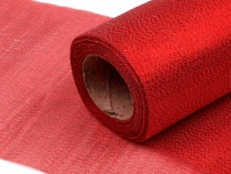 Polyester Ribbon Fabric width 15 cm with lurex