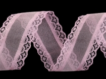 Organza Ribbon width 39 mm with Lace