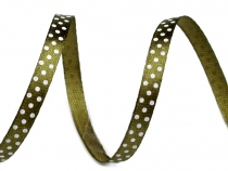 Satin Ribbon width 6 mm polka dots 2nd quantity