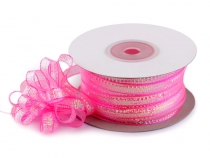 Pull Bow Ribbon with Lurex width 8 mm