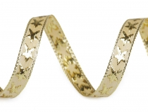 Ribbon with Stars and Lurex width 10 mm