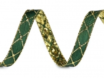 Christmas Ribbon with Lurex width 10 mm