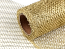 Wire Mesh Ribbon with Lurex width 15 cm