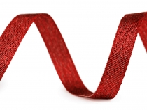 Christmas Decorative Ribbon with Lurex width 10 mm