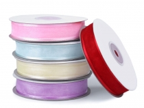 Monofilament Ribbon with Satin Trim width 20 mm
