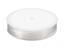 Clear Invisible Elastic Nylon Thread Ø0.8 mm