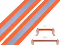 Elastic Tape with Reflective Stripe width 40 mm