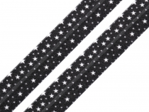 Edging Elastic Trim with Stars width 15 mm