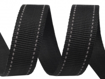 Polypropylene Webbing width 30 mm with reflective stitching