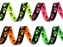 Printed Webbing for Dog Leash / Collar width 15 mm