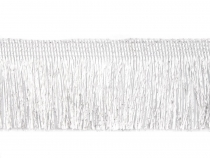 Metallic Thread Fringe gold / silver