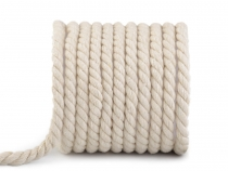 Twisted Cotton Cord / Rope Ø10 mm