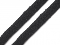 Flat Cotton Braided Garment String width 10 mm
