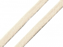 Flat Cotton Braided Garment String width 7 mm