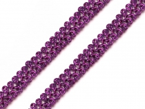 Metallic Gimp  Braid Trim gold / silver / red / purple / blue / black