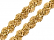 Metallic Gimp  Braid Trim gold / silver
