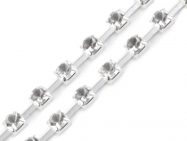 Single Row Rhinestone Trimming width 3.5 mm