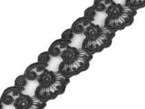 Embroidered Lace Trim width 38 mm