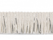 Cotton Fringe with Lurex width 25 mm