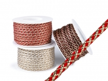 Christmas String with Metallic Thread Ø7 mm