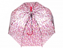 Ladies Transparent Auto-open Stick Umbrella