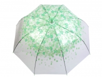 Ladies Auto-open Umbrella Transparent
