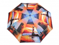 Automatic Open/Close Folding Compact Umbrella