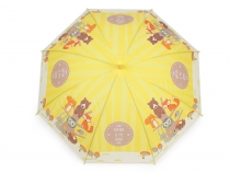 Kids Auto-open Umbrella with Whistle - Unicorn, Animals, Dogs