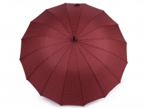 Ladies Auto-open Umbrella with Polka Dots