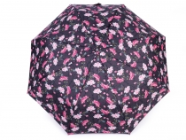 Ladies Folding Auto-open Umbrella Flowers