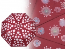 Ladies Folding Auto-open Colour Changing Umbrella