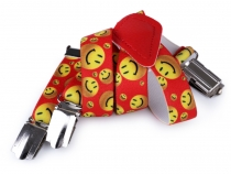 Children Trouser Bracers / Suspenders Y-back emoticon, butterfly, penguin