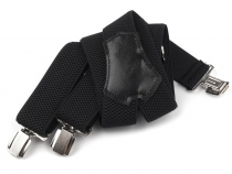 Trouser Braces / Suspenders width 3.5 cm length 120 cm in box Y-Back