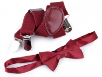 Children Trouser Braces and Bow Tie Set