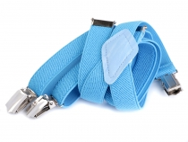 Children Trouser Bracers / Suspenders Y-back width 2 cm length 95 cm