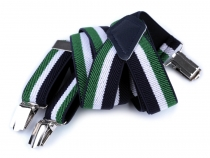 Children Trouser Bracers / Suspenders Stripes, Cubes