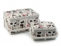 Sewing Basket / Storage Basket - set
